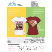 "Jolees® Easy Image® 11"" x 8-1/2"" Transfer Paper For Light and Dark Fabric, Speciality Assortment (1174587)"