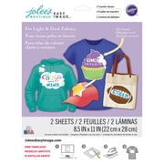 """Jolees® Easy Image® 11"""" x 8 1/2"""" Transfer Paper For Light and Dark Fabric, Dry-Erase"""