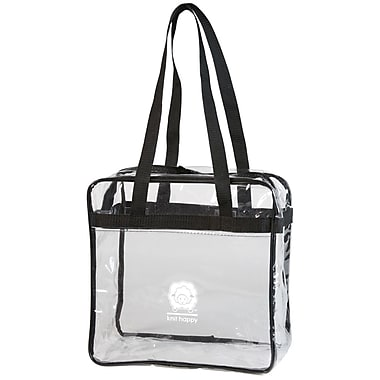 K1C2 Knit Happy Tote, Clear
