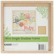 "Kaisercraft Beyond The Page 6.5"" x 6.5"" MDF Craftwood Mini Shadow Frame (SB2283)"