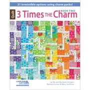 "Leisure Arts® ""Three Times The Charm Book Two"" Book"
