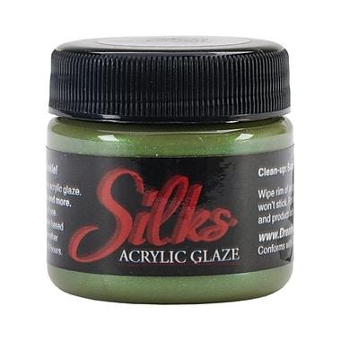 Luminarte Silks Acrylic Glaze Jar, 1 oz., Moss Green