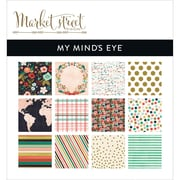 "My Mind's Eye 6"" x 6"" Paper Pad, Market Street Ashbury Heights"