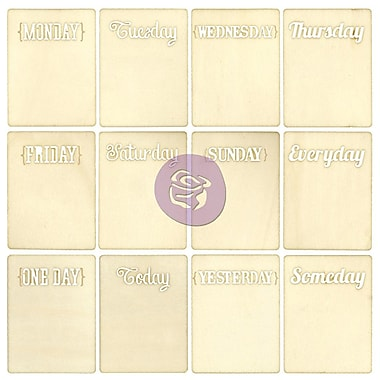 Prima Marketing™ Wooden ATC Card, 7