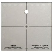 "Quint Measuring Systems™ Fussy Cut Series 4 1/2"" x 4 1/2"" Cutting Squares"