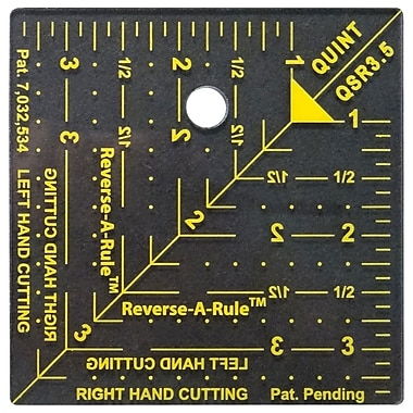 Quint Measuring Systems™ Reverse-A-Rule™ Designer Series 3 1/2