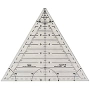 "Quint Measuring Systems™ Reverse-A-Rule™ 8"" Ruler Triangle"