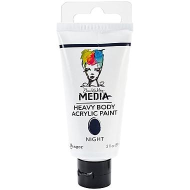 Ranger Dina Wakley Media Heavy Body 2 oz. Acrylic Paint, Night