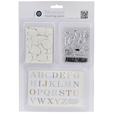 Ruby Rock-It Empire Bebe #2 Transparencies/Stamp/Alpha Sticker Finishing Pack