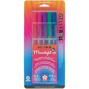 Sakura® Blister Card Gelly Roll® Moonlight® 06 Fine Point Gel Ink Pen Set, ASRTD Dusk Colors