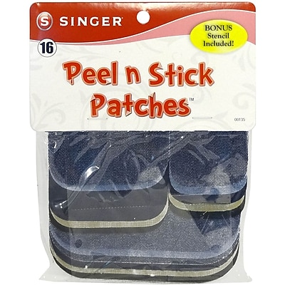 Singer® Peel & Stick Patch Combo Kit Denim & Twill