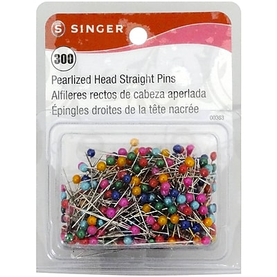 Singer® Pearlized Head Straight Pins