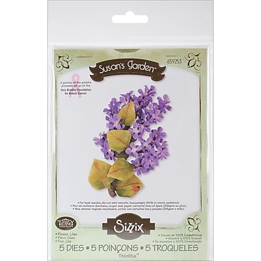 Sizzix® Thinlits Die Set, Lilac Flower