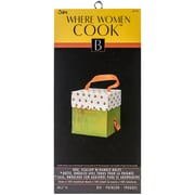 "Sizzix® Where Women Cook Bigz XL Die, 6"" x 13 3/4"", Scallop Box with Handle Holes"