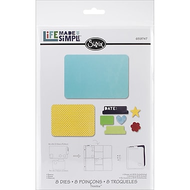 Sizzix® Thinlits Die Set, Basics