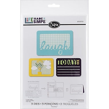 Sizzix® Thinlits Die Set, Laugh Today