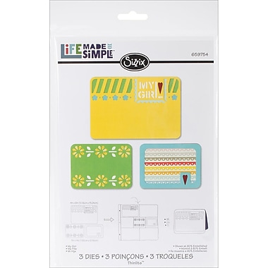 Sizzix® Thinlits Die Set, My Girl