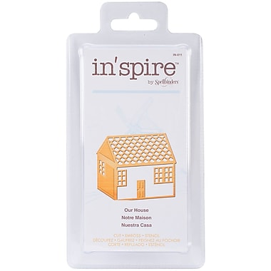 Spellbinders® Shapeabilities® In'spire Die Templates, Our House