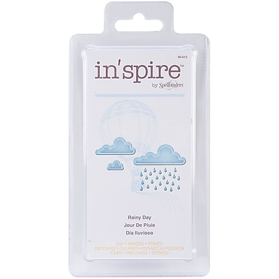 Spellbinders® Shapeabilities® In'spire Die Templates, Rainy Day