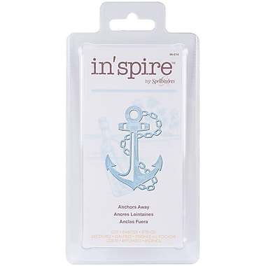 Spellbinders® Shapeabilities® In'spire Die Templates, Anchors Away