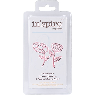 Spellbinders® Shapeabilities® In'spire Die Templates, Flower Power 2