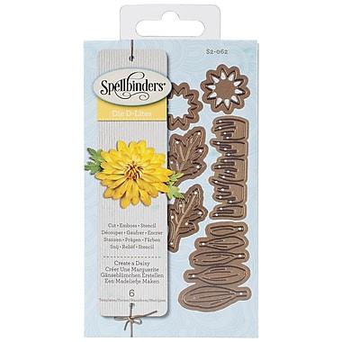Spellbinders® Shapeabilities® Die D Lites™ Die Templates, Create A Daisy