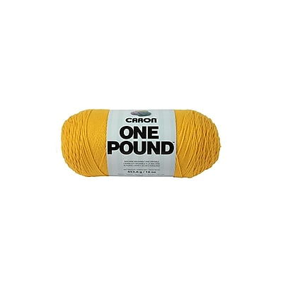 Spinrite® Caron® One Pound™ Acrylic Yarn, Sunflower