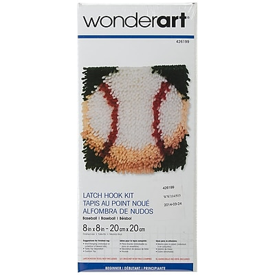 Spinrite® Wonderart Latch Hook Kit, 8