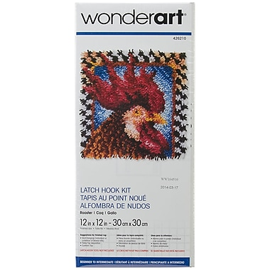Spinrite® Wonderart Latch Hook Kit, 12