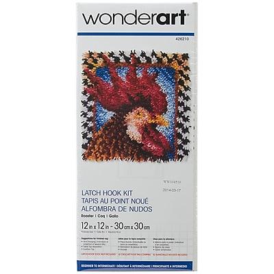 Spinrite® Wonderart Latch Hook Kit, 12