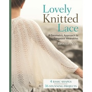 """Sterling Publishing """"Lovely Knitted Lace"""" Lark Book"""