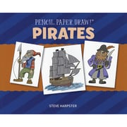 """Sterling Publishing """"Pencil, Paper, Draw!®: Pirates"""" Book"""
