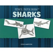 """Sterling Publishing """"Pencil, Paper, Draw!®: Sharks"""" Book"""
