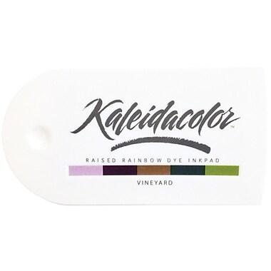 Tsukineko® Kaleidacolor™ 5-Color Dye Ink Stamp Pad, Vineyard