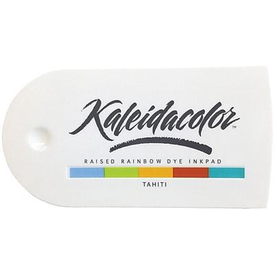 Tsukineko® Kaleidacolor™ 5-Color Dye Ink Stamp Pad, Tahiti