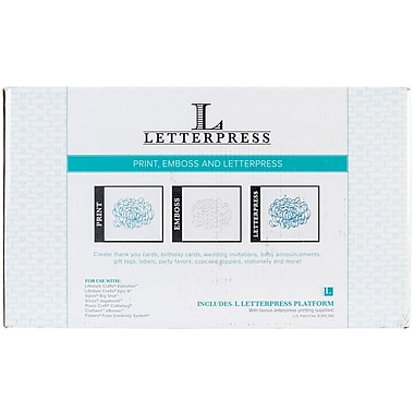 We R Memory Keepers™ Lifestyle Letterpress Kit, 8