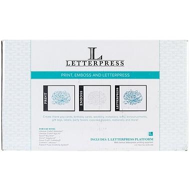 We R Memory Keepers™ Lifestyle Letterpress Kit, 8
