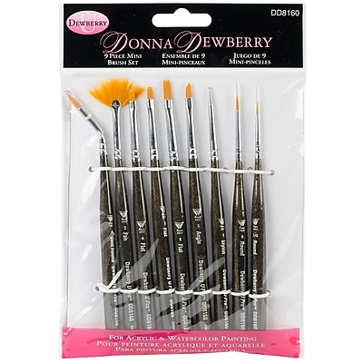 Weber® Dewberry® Mini Brush Set