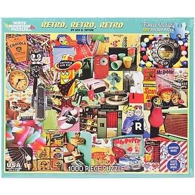 White Mountain 1000-Pieces Jigsaw Puzzle, 24