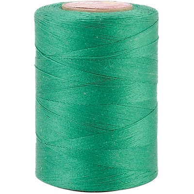 YLI Corporation Star Mercerized 3 Ply Solids Cotton Thread, 1200 Yds, Kerry Green