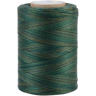 YLI Corporation Star Mercerized 3 ply Variegated Cotton Thread, 1200 Yds, Everglades