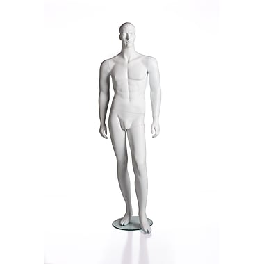 Can-Bramar RP Full Adult Male Mannequin, Matte White