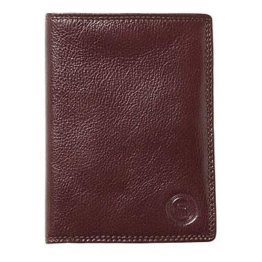 Club Rochelier Passport Holder, Mahogany