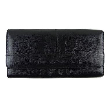Club Rochelier — Portefeuilles avec pochette extérieure, noir