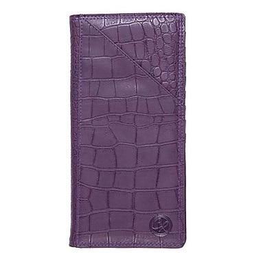 Club Rochelier Ticket Wallet, Purple