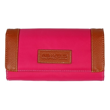 Club Rochelier Clutch Wallet With Gusset, Pink