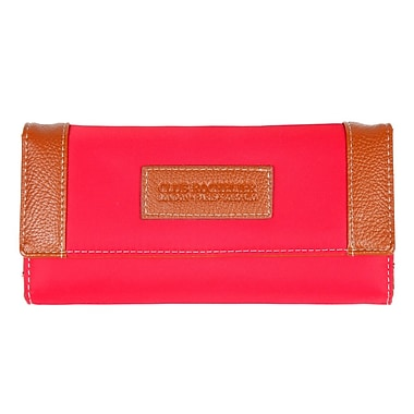 Club Rochelier Slim Clutch Wallet, Red