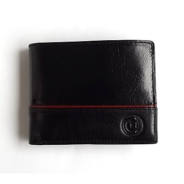 Club Rochelier Slimfold Wallet With Removable I.D And Billfold, Black