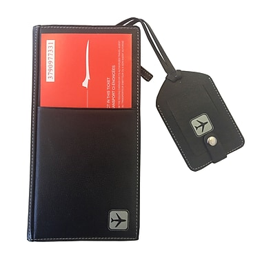 Club Rochelier Ticket Wallet, Black