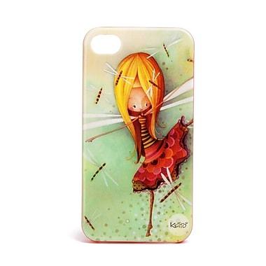 Ketto – Étui pour iPhone 4/4s, libellule